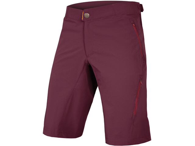 Endura SingleTrack Lite II 500 Series Shorts Men with Liner mulberry